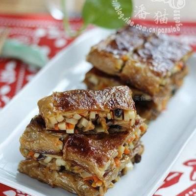 精致美味上海素鸭【上海素鸭】--炒、蒸、煎、煨齐上阵