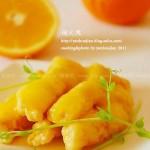 黄金橙汁鱼柳(春节年菜)