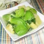 芥菜番薯汤(素菜)