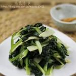 塌菜冬笋(春节年菜-年夜饭餐桌上的主打素菜)