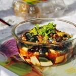 皮蛋拌豆腐(春节年菜之冷盘)