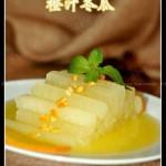橙汁冬瓜(春节年菜之冷盘-能减肥美容的漂亮小冷盘)