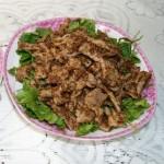 孜然肉片(荤菜)