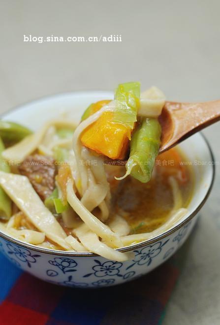 山西柳叶面(早餐菜谱)的做法步骤图片