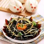 姜丝拌皮蛋(春节年菜之凉菜)
