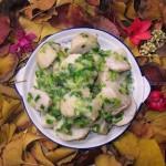 葱油芋儿(素菜)