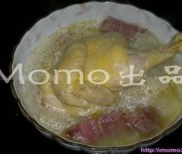 火腿竹笙鸡