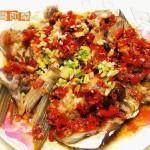 剁椒蒸鱼头(清蒸菜)