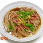 清蒸鱿鱼段(海鲜家常菜)