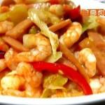 鲜香炒虾(海鲜家常菜)