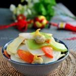 海鲜炒年糕(早餐菜谱)