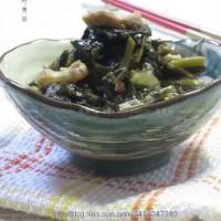 雪菜炒肉絲