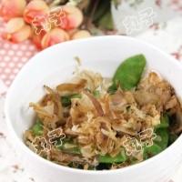 木鱼花炒荷兰豆