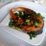 xo酱煎三文鱼(海鲜家常菜)