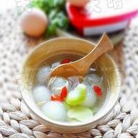蠶豆米冬瓜湯
