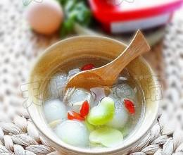 蚕豆米冬瓜汤