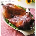 脆皮烤鸭(烤箱菜)