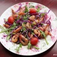 鮮蝦蔬菜沙拉
