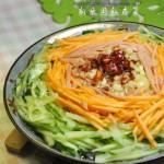 三丝拌粉皮(素菜)