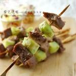 香烤牛肉串(烤箱菜)