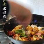 洋葱回锅肉(荤菜)