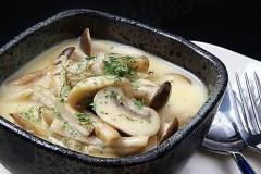 开胃鲜美菌菇菜肴