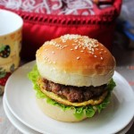 肉饼汉堡(早餐菜谱)