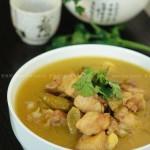 野山椒炖仔鸡(荤菜)