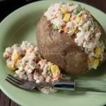 吞拿鱼夹克土豆(沙拉)