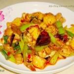 香辣菠萝鸡块(水果入菜)