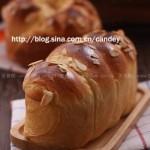 杏仁大面包(早餐菜谱)