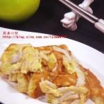 面條魚攤雞蛋(葷菜)
