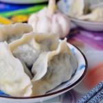 麦蒿水饺(早餐菜谱)
