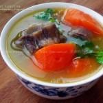 牛尾胡萝卜汤(荤素搭配)