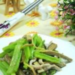 肉丝炒芹菜(荤素搭配)