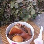 冰糖煨猪头(荤菜)