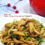 韭菜炒面條魚(海鮮家常菜)
