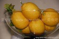 家庭自制柠檬汁和柠檬酱