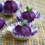 紫薯饭团(早餐菜谱)