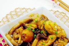 茶树菇滑鸡