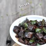 青椒鳝片(荤菜-下酒菜)