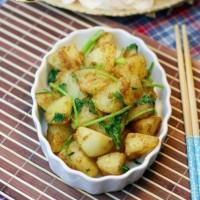 韩式烧烤味土豆+菜饭