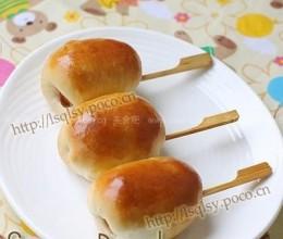艾蒿香肠小面包