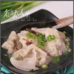 荠菜肉小馄饨(早餐菜谱)