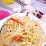 桂花豆芽菜(素菜)