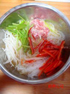 桂花豆芽菜