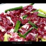 芹菜筒炒牛肉(荤素搭配)