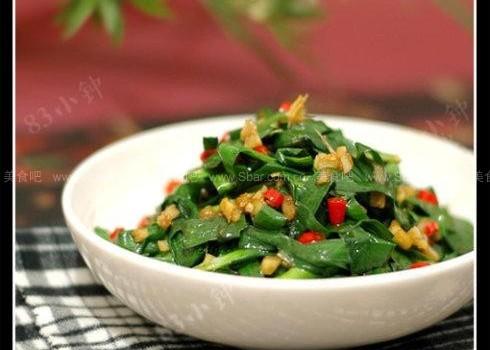 香辣韭菜(素菜-超平实的开胃下饭菜)