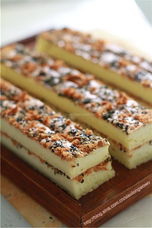 肉松海苔芝麻蛋糕
