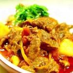 番茄牛肉(荤菜)